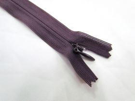 Invisible Zip- Eggplant- 190