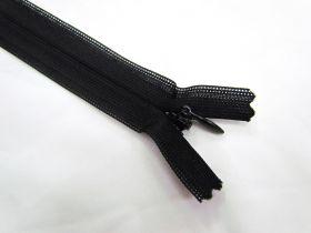 Invisible Zip- Black- 310