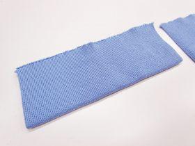 Cotton Blend Pre-Cut Cuff Ribbing- Light Blue #RWC010