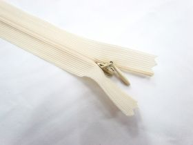 Invisible Zip- Off White- 103