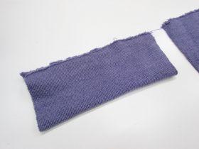 Wool Pre-Cut Cuff Ribbing- Mauve #RWC014