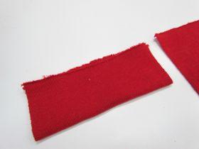 Wool Pre-Cut Cuff Ribbing- Cranberry #RWC016