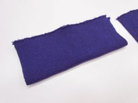Wool Pre-Cut Cuff Ribbing- Purple #RWC013