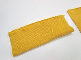 Wool Pre-Cut Cuff Ribbing- Big Yellow #RWC019