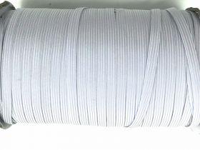 6mm Braided Elastic- Cool White #1012M