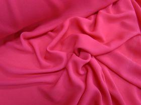 Designer Georgette- Lippy Pink
