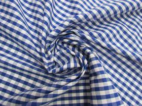 6mm Gingham Cotton- Royal Blue #5561