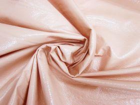 Crinkle Look PVC Vinyl- Soft Peach #4194
