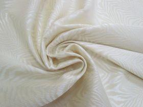 Fierce Stripes Stretch Jacquard- Cream #4198