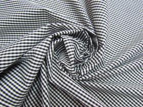 3mm Gingham Cotton- Black #5568