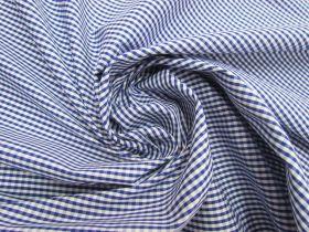 3mm Gingham Cotton- Royal Blue #5571