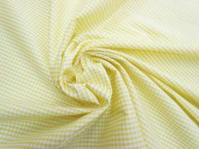 3mm Gingham Cotton- Yellow #5574
