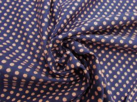 Embroidered Spot Cotton- Blueberry Jam #5592