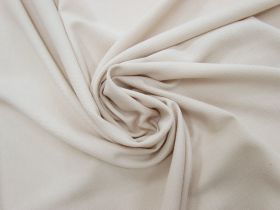 Drapey Textured Woven- Natural Beige #4213