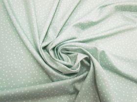 Bubbles Spandex- Soft Mint #5604