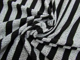 Marle Stripe Ribbed Jersey #1954