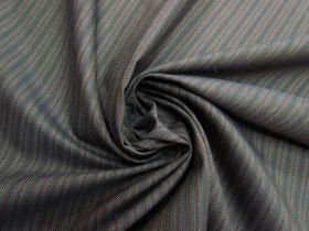 Herringbone Dark Chocolate Stripe Suiting #5610