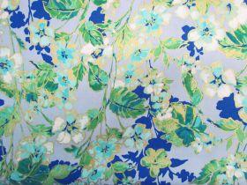 Watercolour Wishes- Floral Dance- Blue #4550