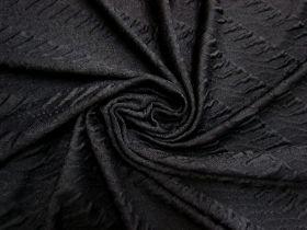 Untamed Stripe Knit- Black #5616