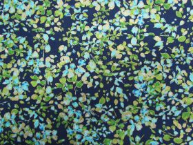 Watercolour Wishes- Petal Party- Navy / Blue #4254