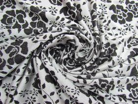 Midnight Garden Brocade Knit #5618