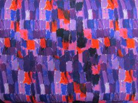 Brush Strokes Cotton- Purple #4240