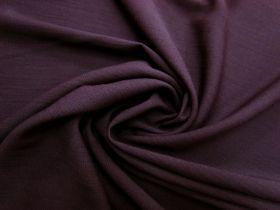 Textured Viscose- Elegant Plum #5631