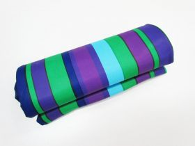 Super Slinky Satin Look Chlorine Resistant- 2 for 1 Mini Roll- Candy Stripe