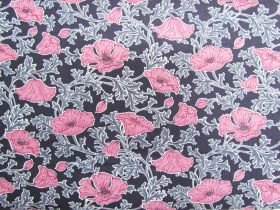 Liberty Cotton- Beatrice Poppy- Pink- The Winterbourne Collection