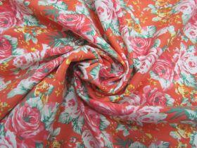 Orange Blossom Stretch Cotton #5637