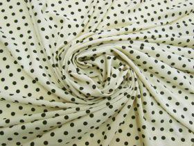 Polka Dot Spot Jersey- Sherbet Yellow #5639