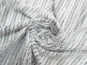 Fluffy Stripe Knit #5643