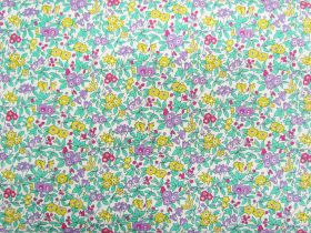 Liberty Cotton- Forget Me Not Blossom- Flower Show Summer Collection