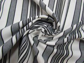 Autumn Stripe Ponte Knit #1997