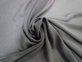 Stretch Silk Georgette- Ash Grey #5665