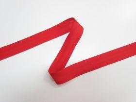 25mm Poly Cotton Bias Binding- Red- 8047-24