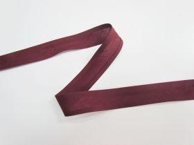 25mm Poly Cotton Bias Binding- Wine- 8047-25
