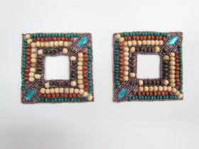 Beaded Embellishments- 2 pack