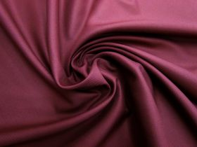 Viscose Blend Twill Suiting- Maroon #5695