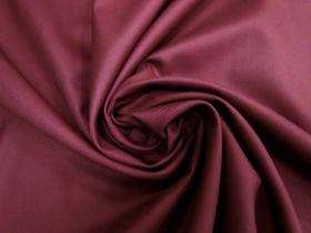 Viscose Blend Twill Suiting- Plum Red #5697