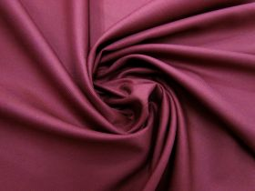 Viscose Blend Twill Suiting- Regency Red #5698