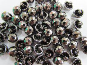 Crystal Look Fashion Button- Platinum #FB109