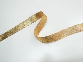 25mm Stellar Metallic Ribbon- Antique Gold