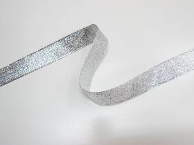 25mm Stellar Metallic Ribbon- Silver