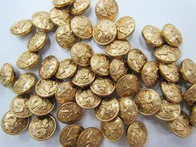 Gold Eagle Fashion Button #FB120