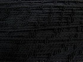 9mm Button Loop Trim- Black #558