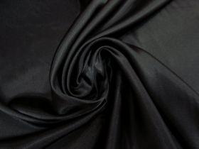 Charmeuse Satin- Elegant Black #5721