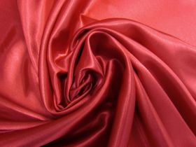 Charmeuse Satin- Ruby Red #5723