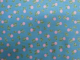 Ruby Star Society Cotton- Stay Gold- Blossom- Vintage Blue #17M