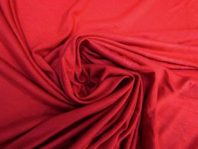 Drapey Viscose Jersey- Ruby Red #5739